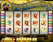 Игровой автомат Captains Treasure Сокровища Капитана